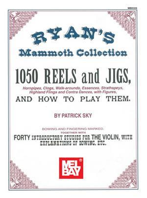 Media Ryan's Mammoth Collection 1050 REELS and JIGS (Fiddle Tunes)
