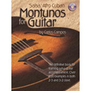Media Salsa Afro Cuban Montunos for Guitar