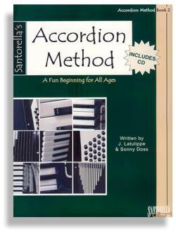 Media Santorella Accordion Method * Book 2 * with CD