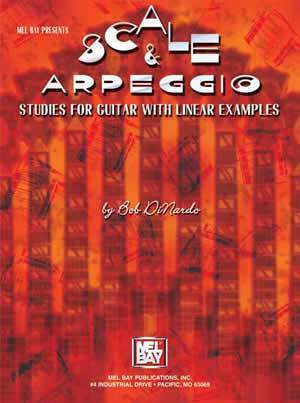 Media Scale & Arpeggio Studies for Guitar with Linear Examples