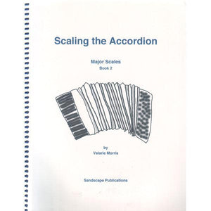 Media Scaling The Accordion, Major Scales, Book 2