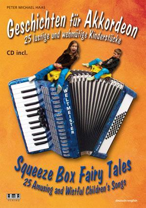 Media Squeeze Box Fairy Tales (Geschichten fur Akkordeon)  Book/CD Set