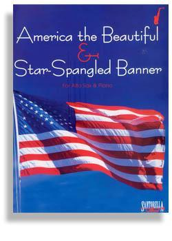 Media Star Spangled Banner & America the Beautiful for Alto Sax & Piano