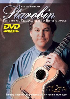 Media Starobin Plays Sor and Giuliani  DVD
