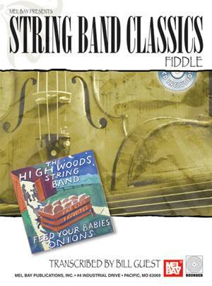 Media String Band Classics - Fiddle   Book/CD Set