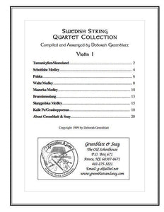 Media Swedish String Quartet Collection - Parts