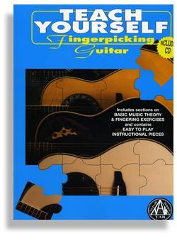 Media Teach Yourself Fingerpicking Guitar with CD
