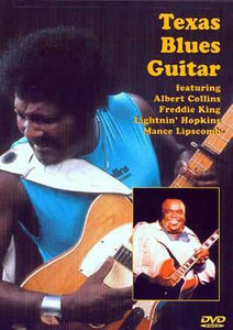 Media Texas Blues Guitar  DVD
