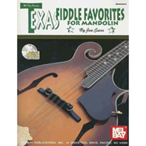 Media Texas Fiddling Favorites for Mandolin, Book & CD