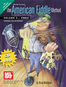 Media The American Fiddle Method,  Volume 2 - Fiddle  Book/CD/DVD Set