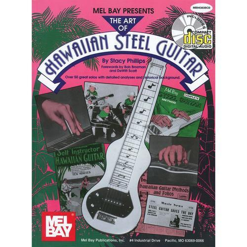 Media The Art of Hawaiian Steel Guitar Book/CD Set, Volume 1