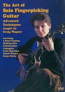 Media The Art of Solo Fingerpicking Guitar  DVD