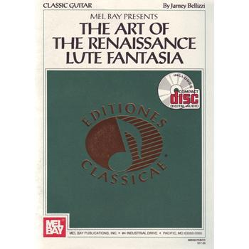 Media The Art of the Renaissance Lute Fantasia Book/CD Set
