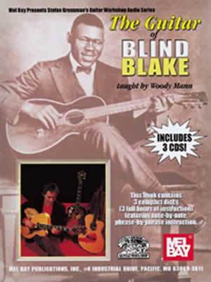 Media The Guitar of Blind Blake  Book/3-CD Set