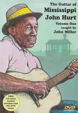 Media The Guitar of Mississippi John Hurt, Volume One  DVD