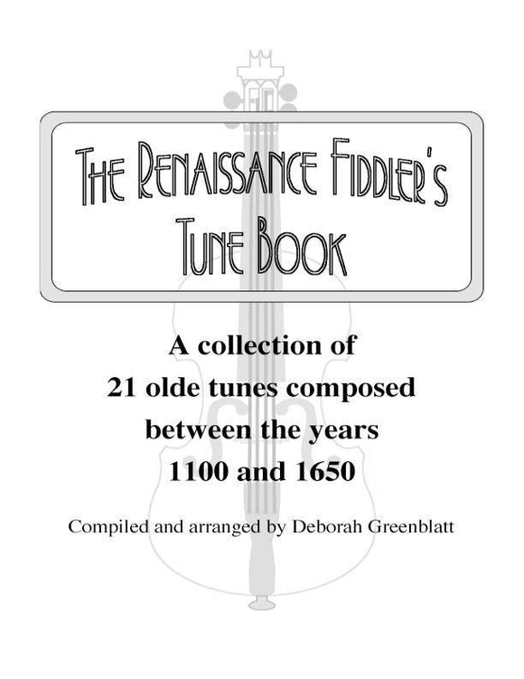 Media The Renaissance Fiddler's Tune Book