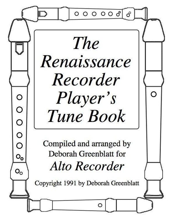 Media The Renaissance Recorder Player's Tune Book - Alto