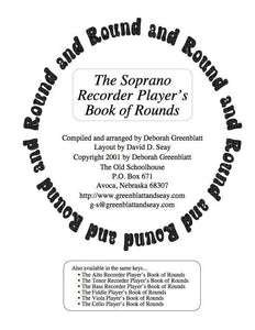 Media The Soprano Recorder Player's Book of Rounds