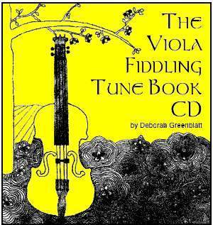 Media The Viola Fiddling Tune Book CD