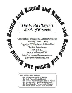 Media The Viola Player's Book of Rounds
