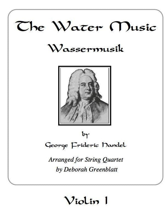 Media The Water Music by George Frideric Handel - Parts for String Quartet