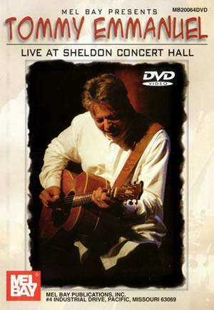 Media Tommy Emmanuel Live at Sheldon Concert Hall DVD