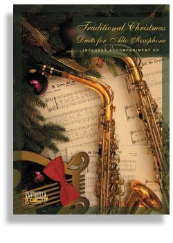 Media Traditional Christmas Duets for Alto Sax  with CD