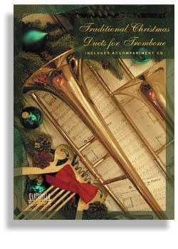 Media Traditional Christmas Duets for Trombone with CD