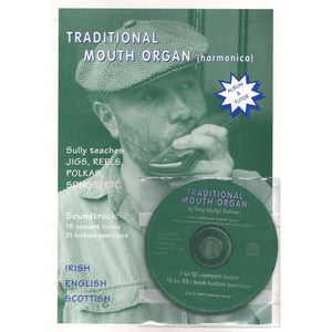 Media Traditional Mouth Organ Book/CD
