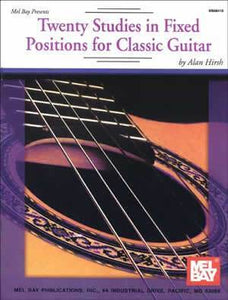 Media Twenty Studies in Fixed Positions for Classic Guitar