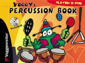 Media Voggy's Percussion Book  Book/CD Set