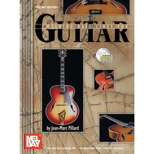 Media Walking Bass Lines for Guitar, Book & CD