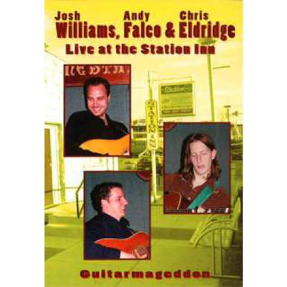 Media Williams, Falco and Eldridge Live at the Station Inn  DVD