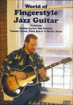 Media World of Fingerstyle Jazz Guitar  DVD