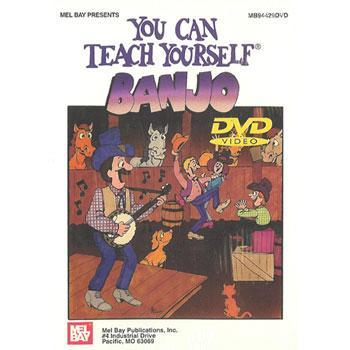 Media You Can Teach Yourself Banjo DVD