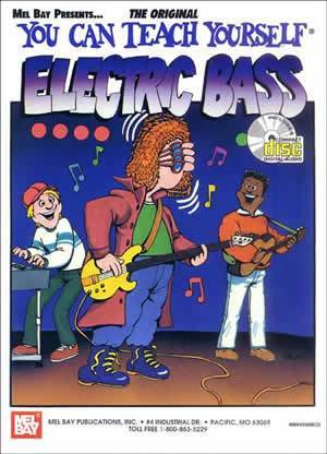 Media You Can Teach Yourself Electric Bass  Book/CD Set