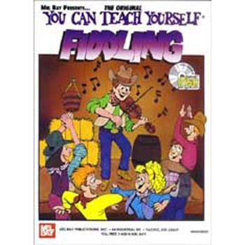 Media You Can Teach Yourself Fiddling Book/CD Set
