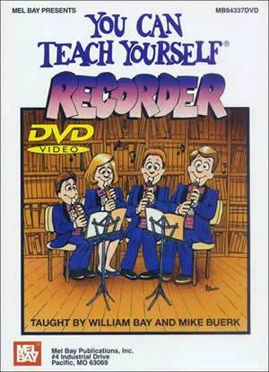 Media You Can Teach Yourself Recorder DVD
