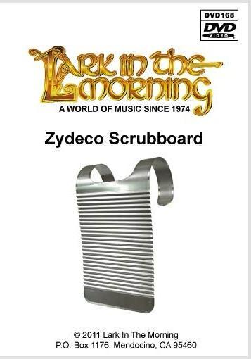 Media Zydeco Scrubboard DVD
