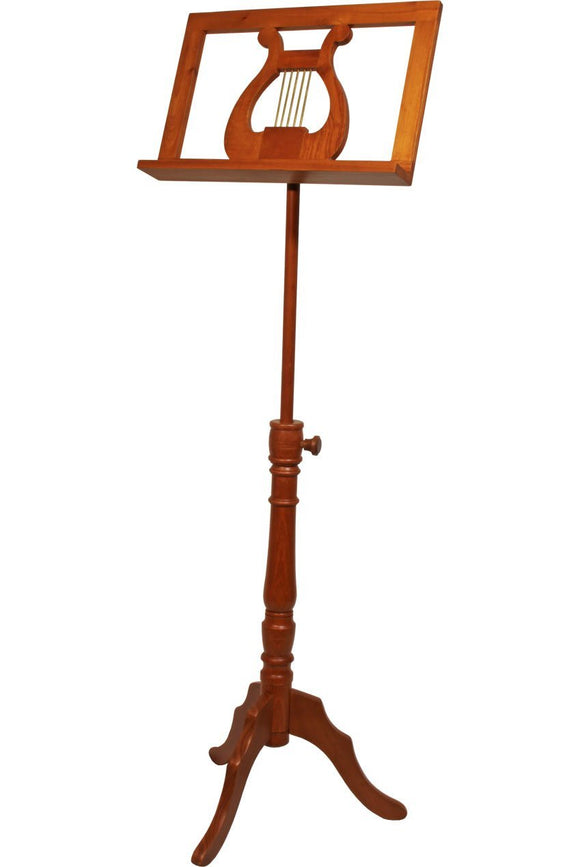 Music Stands EMS Single Tray Regency Music Stand - Red Cedar