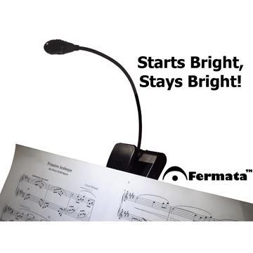 Music Stands Fermata Operated LED Music Light
