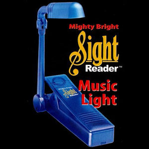 Music Stands Mighty Bright Sight Reader, Blue
