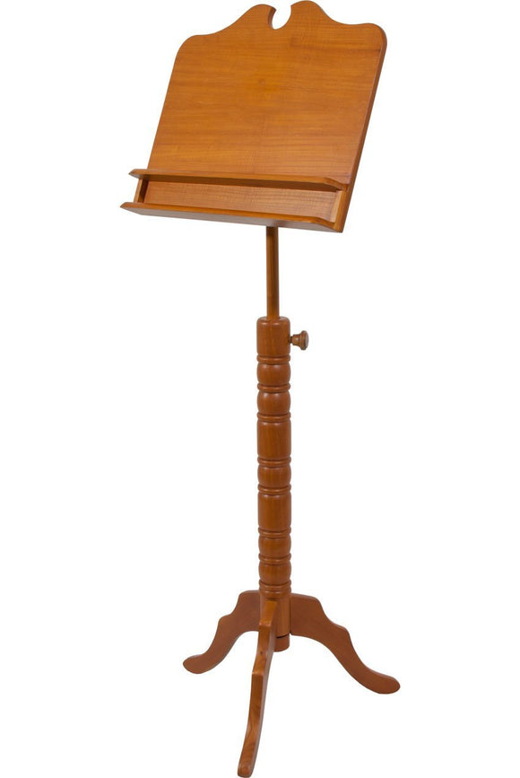 Music Stands Roosebeck Double Shelf Boston Music Stand - Red Cedar