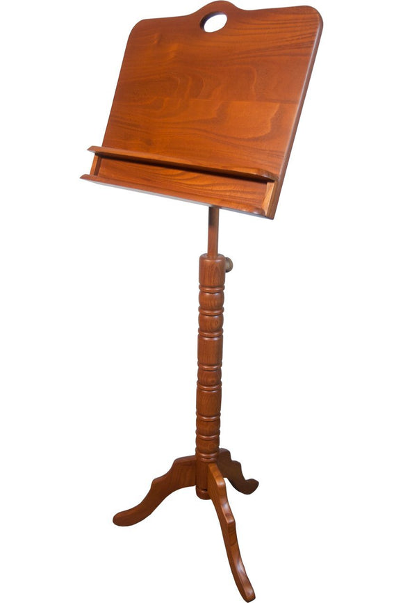 Music Stands Roosebeck Double Shelf Colonial Music Stand - Red Cedar