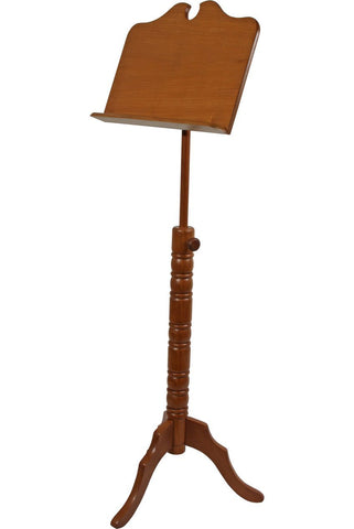 Music Stands Roosebeck Single Tray Boston Music Stand - Red Cedar