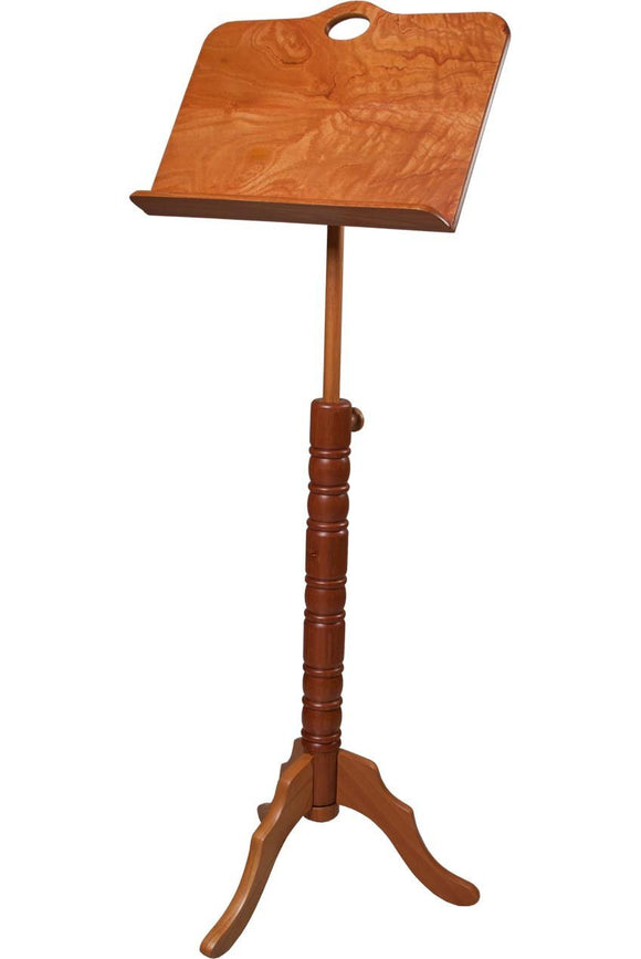 Music Stands Roosebeck Single Tray Colonial Red Cedar Music Stand