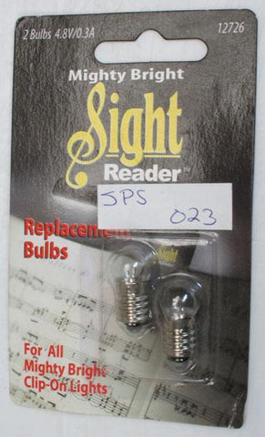 Music Stands Sight Reader replacement bulbs