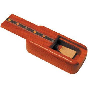 Musical Gifts Bagpipe Reed Box, padouk assorted inlay