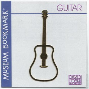 Musical Gifts Guitar Bookmark