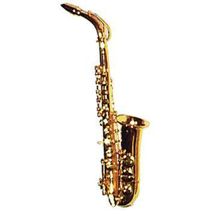 Musical Gifts Mini Sax, Brass, 6""